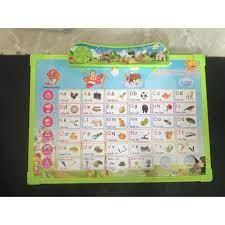 Bảng nhựa nói học tập 11 Chủ đề cho các bé học tập ! Bảng nói xanh - Đồ chơi  phát nhạc và nhạc cụ