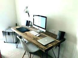modern rustic office. Reclaimed Wood Desk Modern Rustic Office Furniture Wooden Industrial Chic U