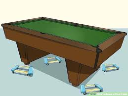 rug under pool table or not image titled move a what size area for 8 foot