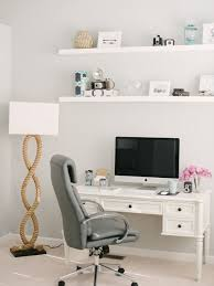 study room beach style freestanding desk carpeted study room idea in baltimore with gray walls