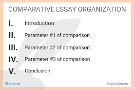 Comparison Essay Template How To Write A Comparative Essay Writing Guides Ultius