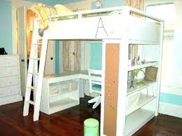 kids bunk bed with desk. White Bunk Bed With Desk Loft Kids