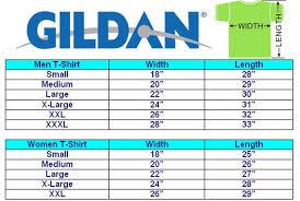 Gildan Mens T Shirt Size Chart Dreamworks
