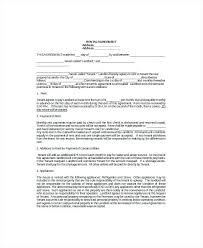 standard rental agreement template 8 lease agreement templates free sample example format standard