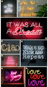Neon Lights For Dorm Rooms Neon Signs To Light Up The Party Hush Light Up Signs