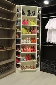 the revolving closet organizer manually rotates 360 degree modern