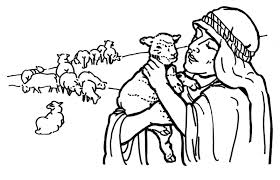 Small Picture Lost Sheep Coloring Page Miakenasnet
