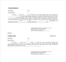 Notary Public Template Notary Public Letter Rome Fontanacountryinn Com