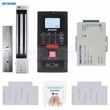 <b>DIYSECUR</b> Full TCP / IP Fingerprint ID <b>Card</b> Reader <b>Door Access</b> ...