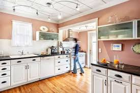 black laminate kitchen countertop
