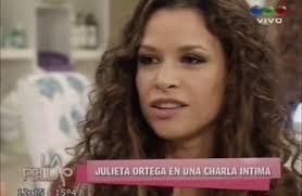 """Julieta Ortega y la polémica por el romance Tinelli-Valdés: """"Guillermina me llamó y le dije lo que pensaba"""". En una charla con Flor de la V, ... - JULIETA_ORTEGA"""