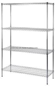 china manufacturer 4 tier metal shelf rack storage commercial wire shelving with nsf approval china commercial wire shelving commercial wire rack