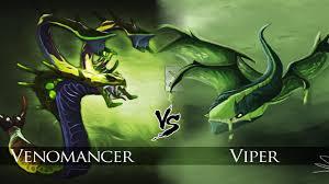 dota 2 viper vs venomancer one click battle youtube