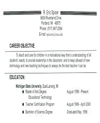 Resume Career Objective Sample Resume Career Objective Sample Impressive Pictures Of Resumes