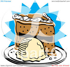 Royalty Free Rf Clipart Illustration Of A Slice Of Birthday Cake