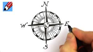 compass design how to draw a compass design youtube