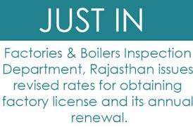 Factories Boilers Inspection Department Rajasthan Issues