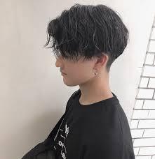 齋藤正太 スパイラルパーマ 美容師マッシュ メンズヘア At Signal8756