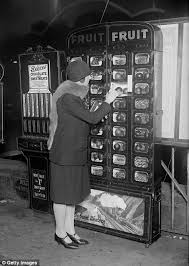Antique Whiskey Vending Machine For Sale Best Vintage Vending Machines You Never Knew Existed Daily Mail Online
