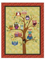 Wall Quilts & Quilted Wall Hangings for Babies & Kids - Page 1 & Life's a Hoot Wall Hanging Pattern Adamdwight.com
