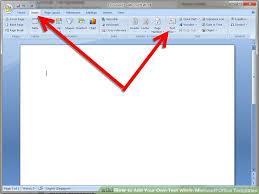 template office how to add your own text within microsoft office templates