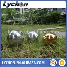 Stainless Steel Decorative Balls 100mm 100mm 100mm Stainless Steel Golf Ball Decoration Sculpture 62