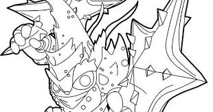 Skylanders Trap Team Coloring Pages Lob Star Character Simple Home