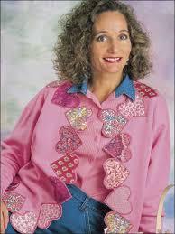 Best 25+ Quilted sweatshirt jacket ideas on Pinterest | Sweatshirt ... & Easy Quilting for Beginners - Beginner Quilting Patterns - Scrappy Heart  Jacket Adamdwight.com