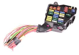dash fuse box panel wiring harness pigtail 02 05 audi a4 b6 dash fuse box panel wiring harness pigtail 02 05 audi a4 b6 genuine