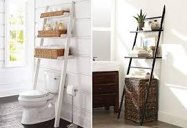 Ladder-Shelves-for-Bathroom