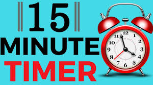 Fifteen Minutes Timer 15 Minute Timer With Alarm Youtube