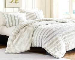 striped duvet beckham hotel collection dobby stripe cover set