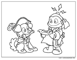 Funny Coloring Sheet Signal Geocaching