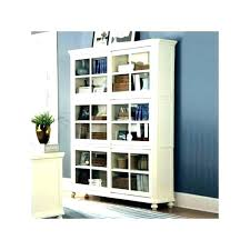 white glass door bookcase glass door bookcase contemporary bookshelves with source a white sliding doors glass