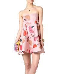 Haoduoyi Size Chart Haoduoyi Pink Lips Strapless Dress