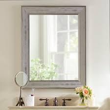 bathroom mirror frame. Silver Grid Framed Wall Mirror, 29x35 In. Bathroom Mirror Frame