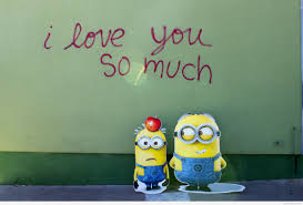 Funny I Love You So Much Cartoon Wallpaper
