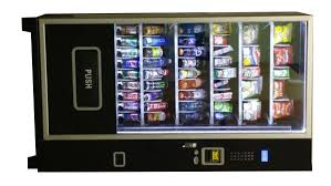 Snack Time Vending Machine For Sale New Vending Machines New Used Piranha Vending