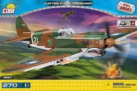Американский истребитель Кёртисс P-40 ... - Конструктор COBI