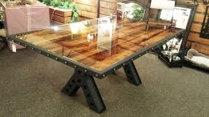 industrial metal and wood furniture. Gallery Of Wood And Metal Dining Table Round Black With Bench Industrial Furniture M