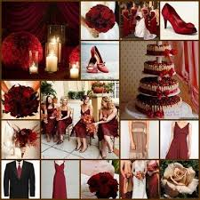 wine red wedding. champagne and red wine wedding color you to have red and