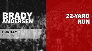 22-yard Run vs West Aurora - Brady Andersen highlights - Hudl