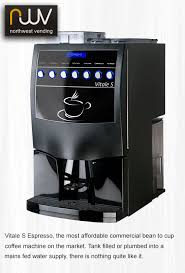 Table Top Coffee Vending Machine Adorable Vitale S Espresso The Most Affordable Commercial Bean To Cup Coffee