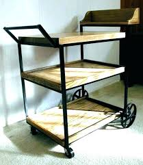 wooden rolling cart with drawers the drawer depot office cart rolling office cart vintage wood rolling
