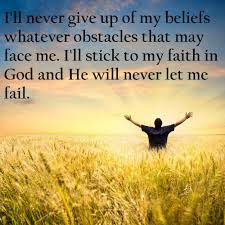 Quotes About God And Faith I'll Stick To My Faith In God Quotes and Sayings 19 12525