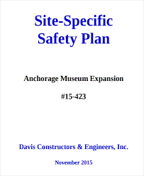 Site Safety Plans 29 Safety Plan Samples Free Premium Templates