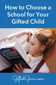 gifted student reading a dictionary how to choose a