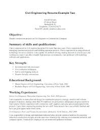 Resume Objective Civil Engineer Civil Engineering Resume Objective 30