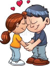 cute couple cartoons black and