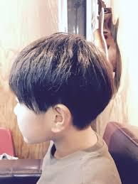 サブさんのヘアスタイル ボブベースのツーブロックキッズ Tredina